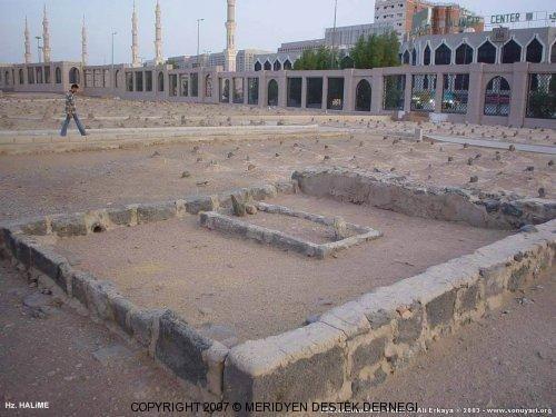 Grave of Halima, the Last Prophet's wet nurse