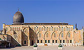 The first kibla of Muslims: Al-Aqsa Mosque