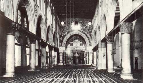 Al-Aqsa Mosque, interior view