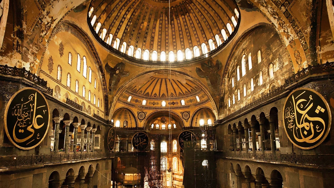 The Great Hagia Sophia Mosque