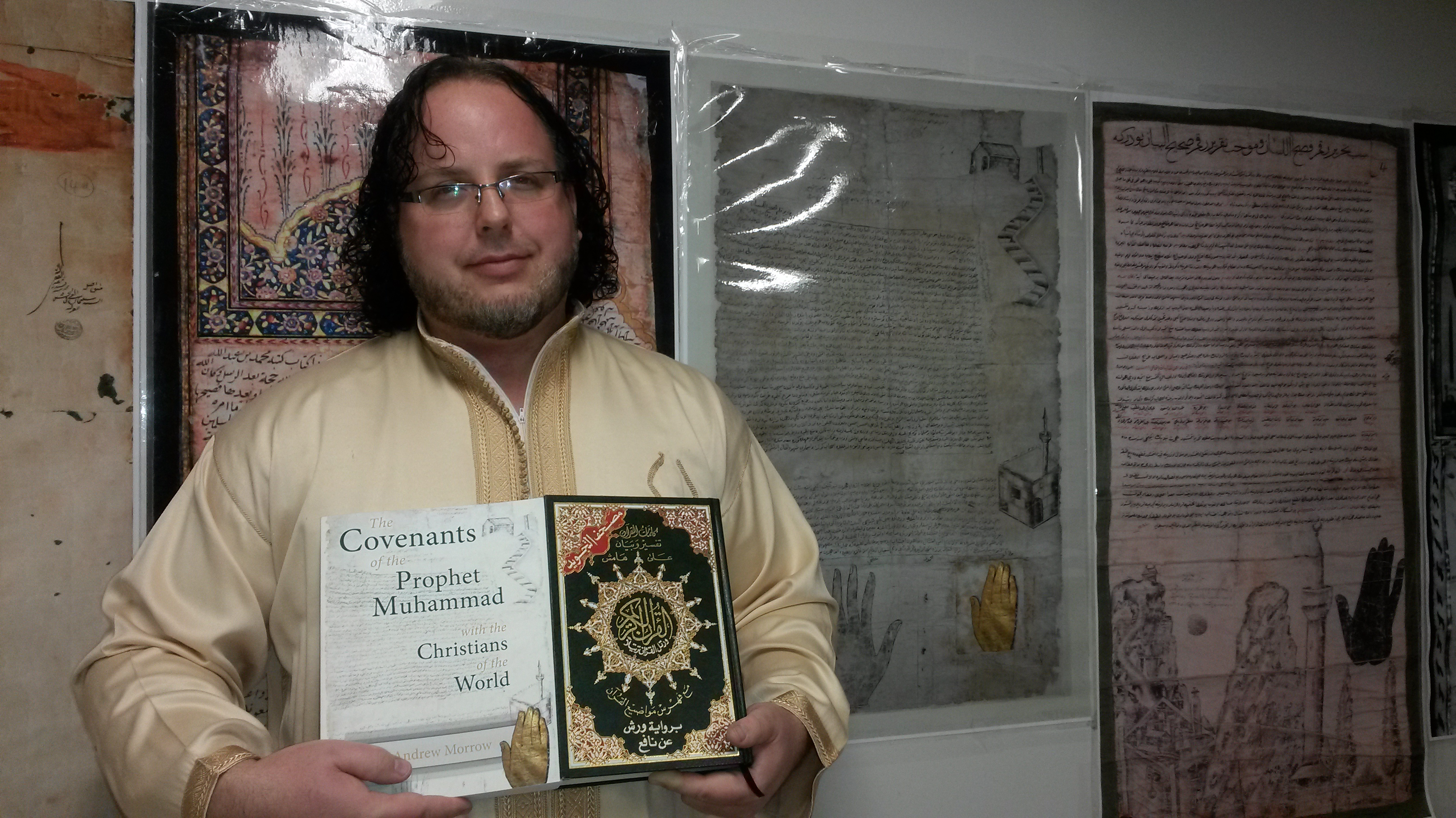 Covenant of Prophet Muhammad with the Monks of Mt  Sinai